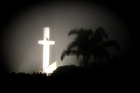CROSS IN THE FOG